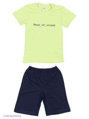 Пижама Modis. Цвет: бежевый, красный, зеленый
