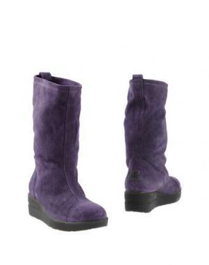 Полусапоги и высокие ботинки RUCO LINE. Цвет: темно-фиолетовый