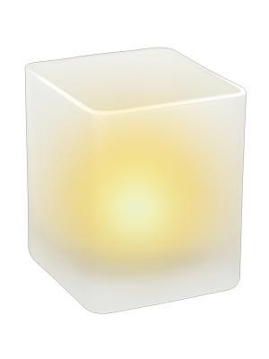 Лампа декоративная B14 Эра. Цвет: белый