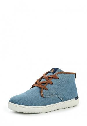 Ботинки Fullstop. Цвет: голубой