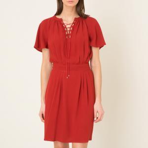 Платье CARUSO SESSUN. Цвет: красный