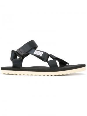 Buckle strap sandals Suicoke. Цвет: синий