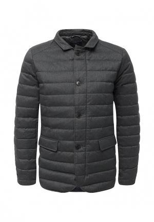 Куртка утепленная Gant. Цвет: серый