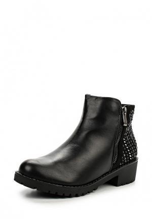 Полусапоги Sweet Shoes. Цвет: черный