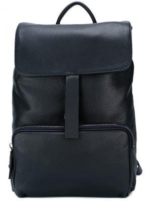 Рюкзак с откидным клапаном Zanellato. Цвет: синий