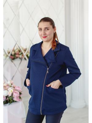 Куртка Beauty mammy. Цвет: синий
