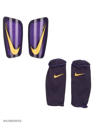 Щитки NK MERC LT GRD Nike. Цвет: темно-фиолетовый, черный