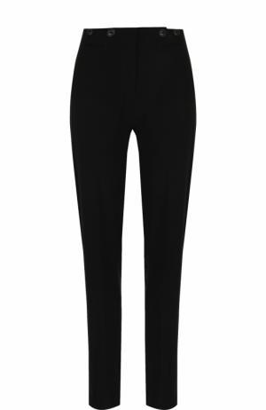 Однотонные брюки прямого кроя со стрелками Rag&Bone. Цвет: черный