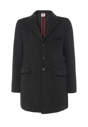 Пальто ZU Elements. Цвет: серый
