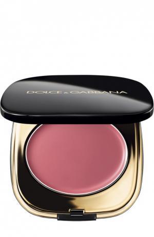Кремовые румяна, оттенок Rosa Carina 030 Dolce & Gabbana. Цвет: бесцветный