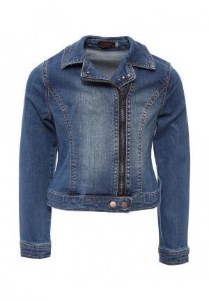 Куртка джинсовая Catimini. Цвет: синий