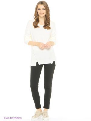 Пуловер Modis. Цвет: белый