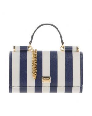 Бумажник DOLCE & GABBANA. Цвет: темно-синий