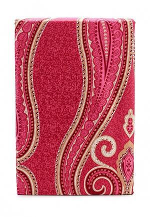 Комплект постельного белья 1,5-спальный Хлопковый Край. Цвет: розовый