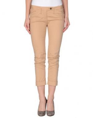 Повседневные брюки GOLD CASE. Цвет: телесный
