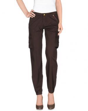 Повседневные брюки ...LOVE IS LOVE!.... Цвет: коричневый