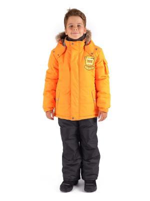 Комбинезон зимний: куртка и брюки Premont. Цвет: оранжевый