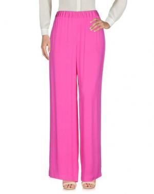 Повседневные брюки GIANLUCA CAPANNOLO. Цвет: фуксия