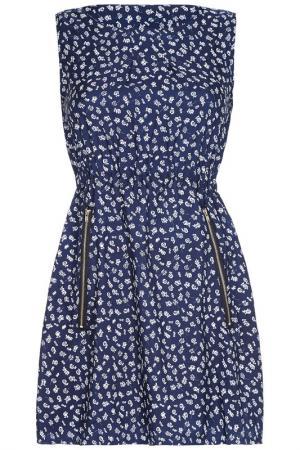 Платье Mela london. Цвет: синий