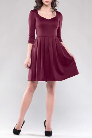 Платье REBECCA TATTI. Цвет: сливовый