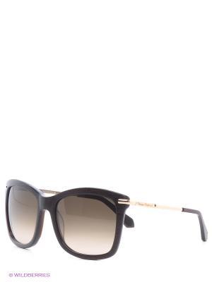 Очки солнцезащитные Vivienne Westwood. Цвет: коричневый, золотистый, черный