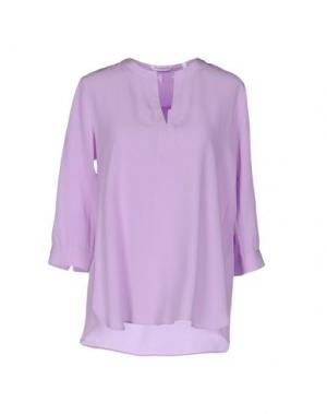 Блузка GUGLIELMINOTTI. Цвет: сиреневый