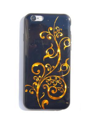 Чехол для Iphone 6/ 6S Lola. Цвет: золотистый, черный