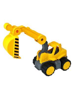 Экскаватор BIG-POWER-WORKER BAGGER, 67х20х25 см. BIG. Цвет: желтый