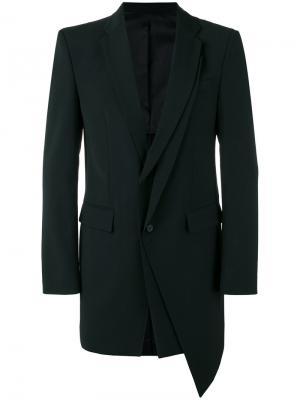 Layered blazer D.Gnak. Цвет: чёрный