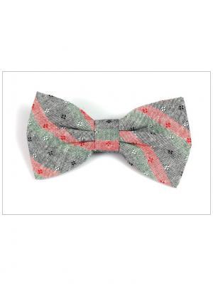 Галстук-бабочка Churchill accessories. Цвет: зеленый, хаки, оливковый, серый, бордовый, коричневый, красный, коралловый