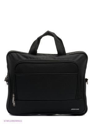 Портфель Cross Case. Цвет: черный