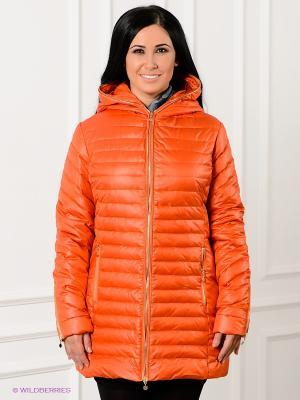 Пальто SISTE'S. Цвет: оранжевый
