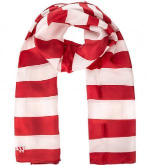 Шелковый шарф в полоску FRAAS. Цвет: полоска