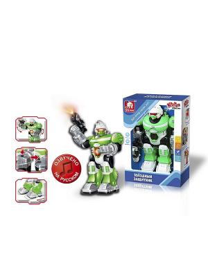 Робот Звездный Андроид S-S. Цвет: зеленый, белый, черный