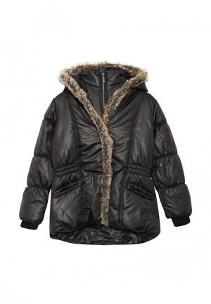 Куртка утепленная Z Generation. Цвет: черный