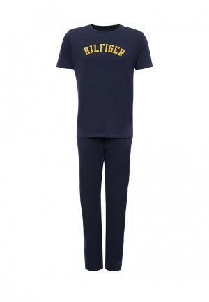 Пижама Tommy Hilfiger. Цвет: синий