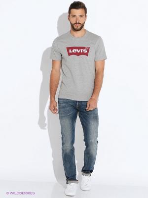 Футболка Levi's®. Цвет: серый