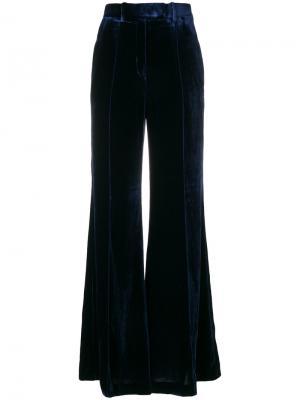 А-образные брюки Lincoln Racil. Цвет: синий