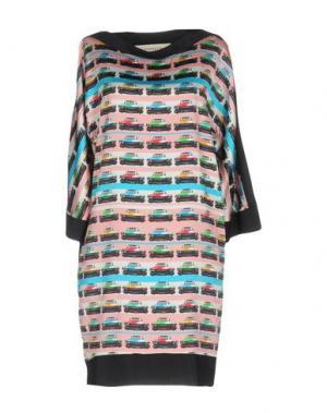 Короткое платье SHIRTAPORTER. Цвет: розовый