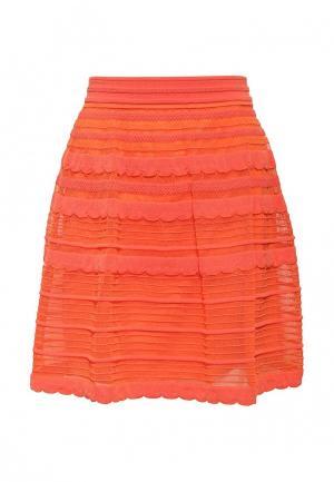 Юбка M Missoni. Цвет: оранжевый