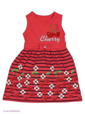 Платье Unruly. Цвет: красный