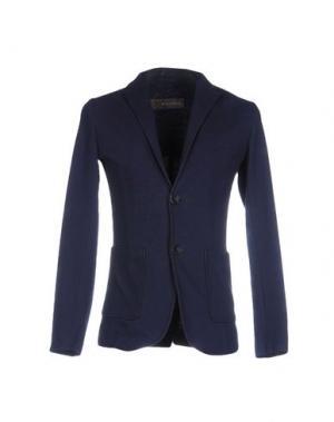 Пиджак HETREGO'. Цвет: темно-синий