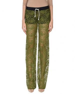 Повседневные брюки F**K PROJECT. Цвет: зеленый-милитари