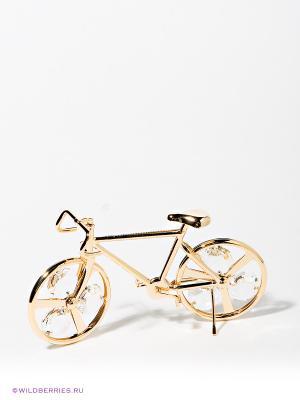Фигурка Велосипед Юнион. Цвет: золотистый, прозрачный
