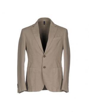 Пиджак DOMENICO TAGLIENTE. Цвет: бежевый