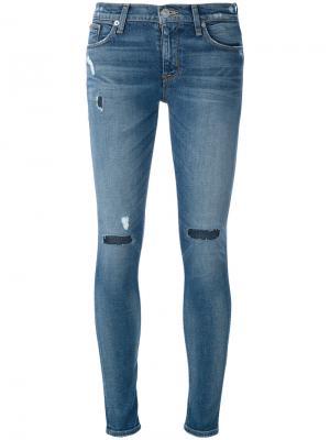 Skinny jeans Hudson. Цвет: синий