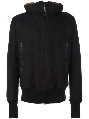 Куртка с капюшоном Isaac Sellam Experience. Цвет: чёрный