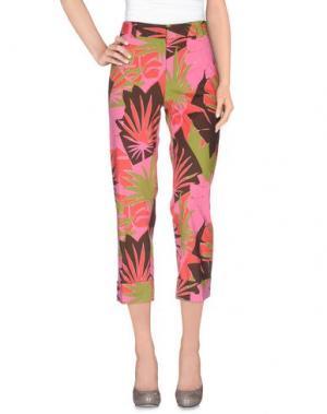 Повседневные брюки METRADAMO. Цвет: розовый