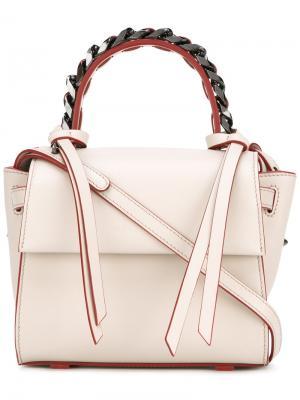 Маленькая сумка-тоут Angel Sensua Elena Ghisellini. Цвет: телесный