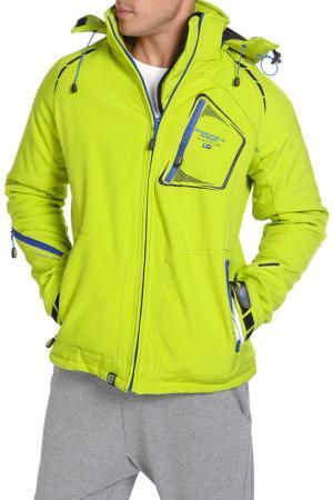 Куртка Geographical norway. Цвет: зеленый